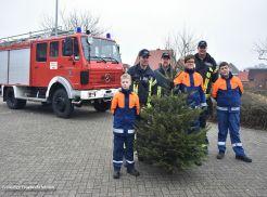 Weihnachtsbaumsammelaktion, 13.01.2018