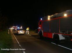 Schwerer Verkehrsunfall, 30.04.2012