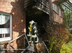 Wohnungsbrand, 27.04.2012